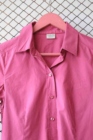 Salmon Pink Button Down