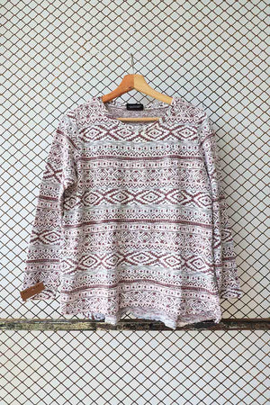 Tribal Knit Snuggle Jumper (Brand: Gina)