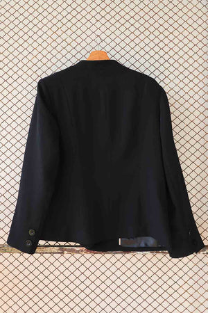 Black Fashion Suit Blazer