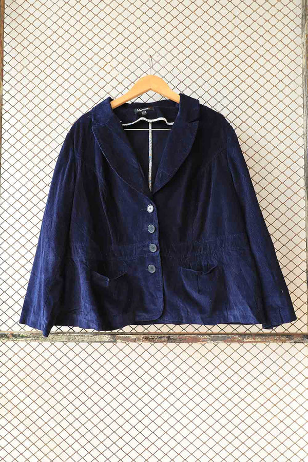 Blue Corduroy Jacket
