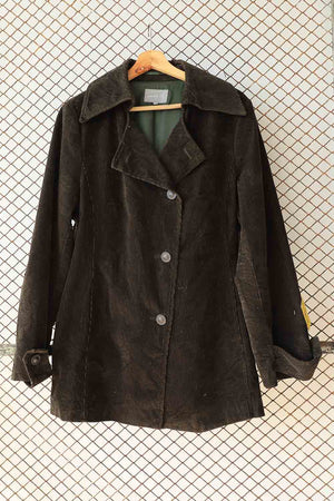 Brown Cuordroy Jacket