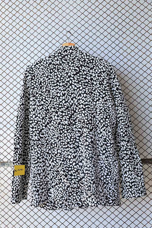 Black and White Tweed Textured Fashion Coat (Brand: Neat with Love)