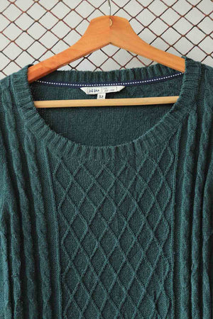 Teal Green Sweater