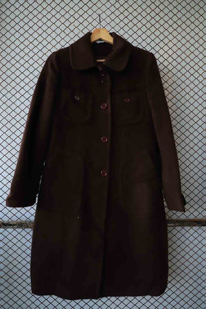 Brown Long Winter Coat