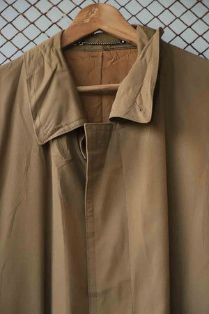 Beige Long Trench Coat