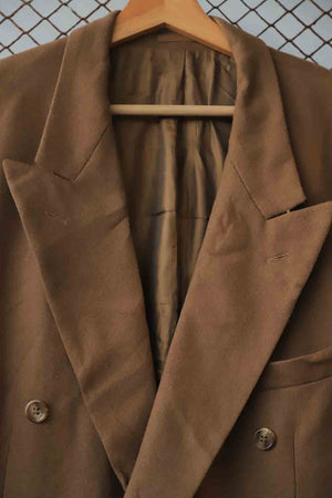 Brown Boyfriend Coat