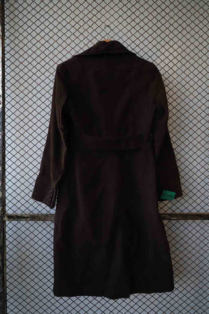 Long Black Wool Coat