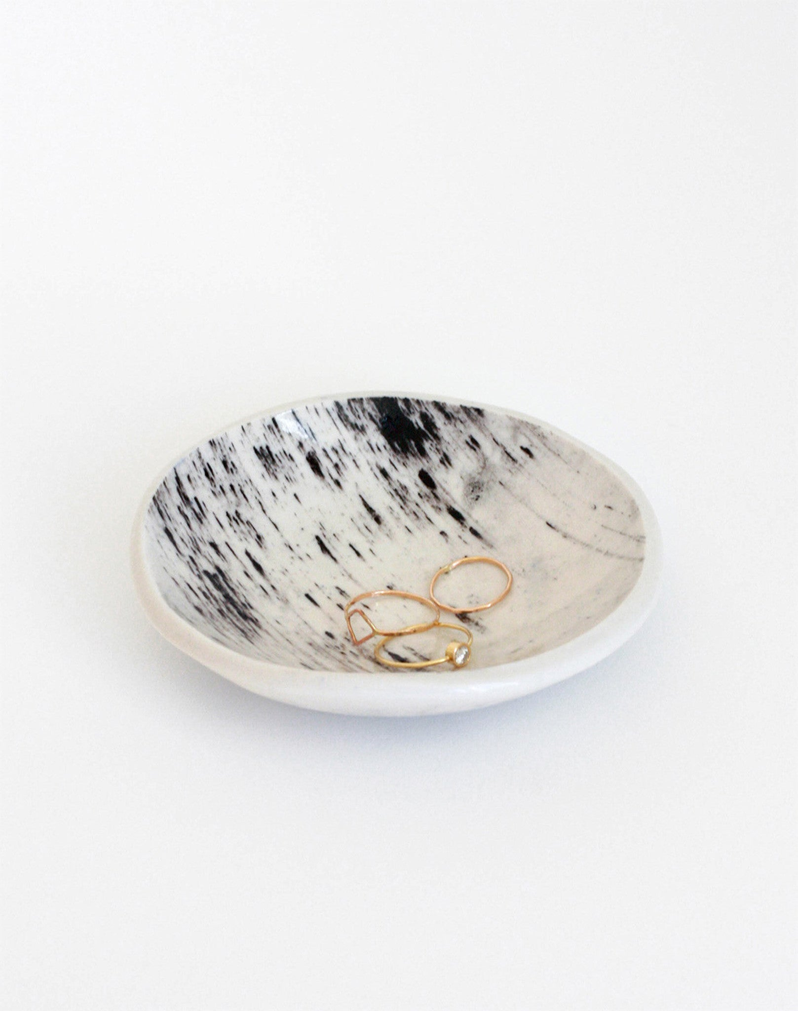 Ring Dish - Black