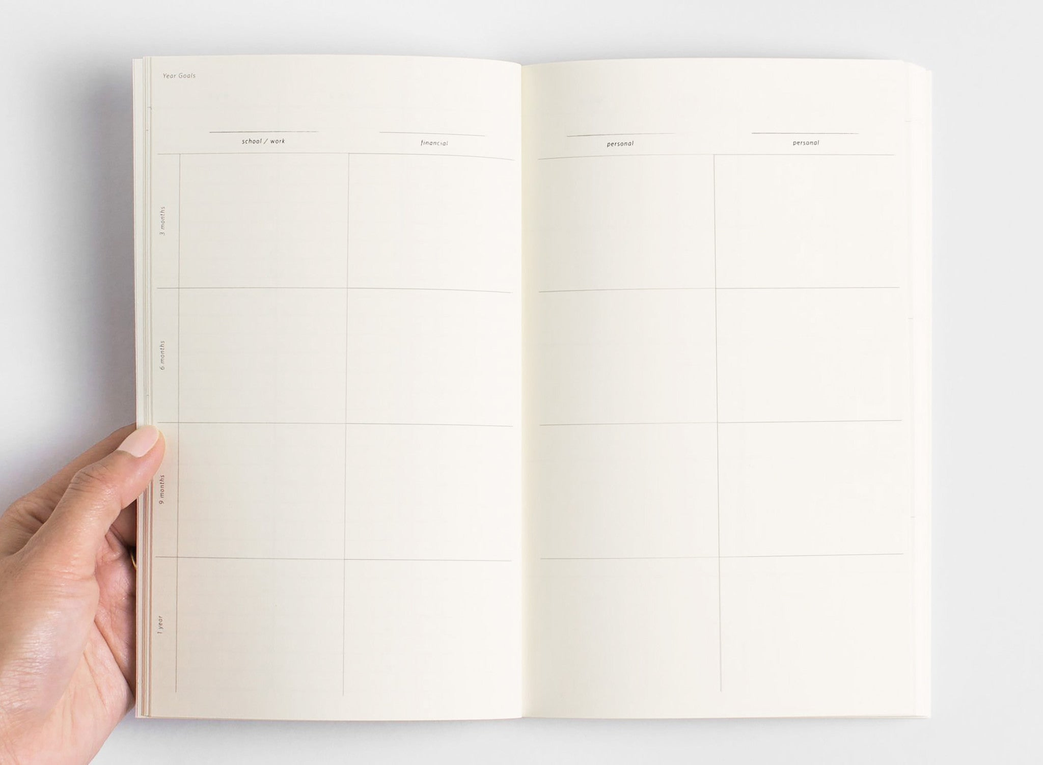 Planner Notebook, Julia Kostreva