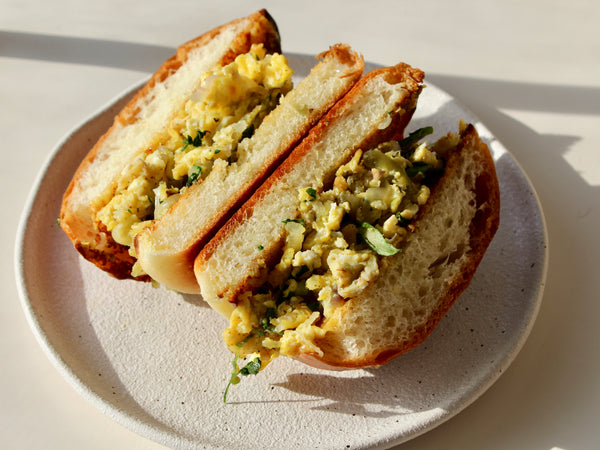 Akuri Breakfast Sandwich (Egg Sando)