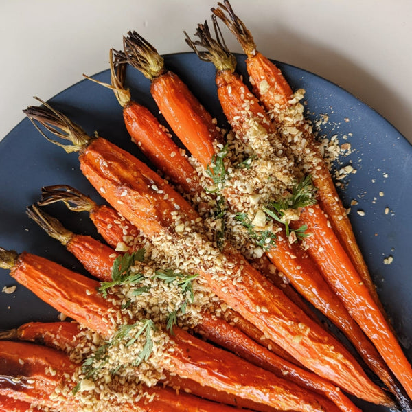Honey Roasted Carrots with Smoki Dukkah