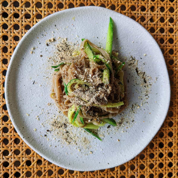 Cucumber and Lime Soba Noodles