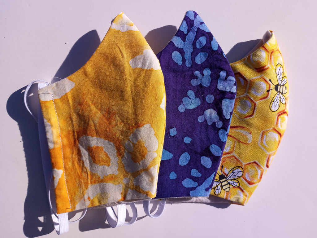 Batik and Muslin Face Masks
