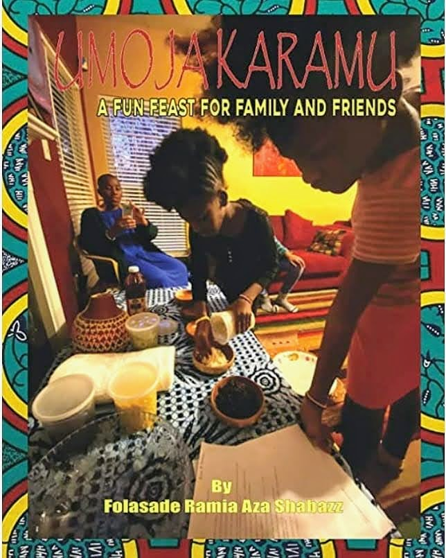 Umoja Karamu: A Fun Feast for Family and Friends-Signed Copy