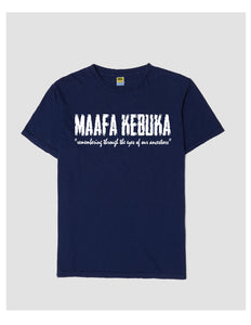 Maafa Kebuka Shirt-Available in Blue and Black