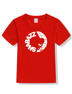 Shabazz World T-Shirt - Red/Black/Navy Blue - Short Sleeve