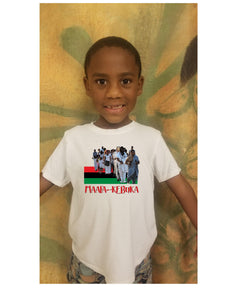 Adult/Youth Maafa Kebuka Year 1 White Tee