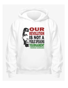 Sankara Our Revolution - White Hoodie