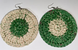 Spearmint Crochet Hoops