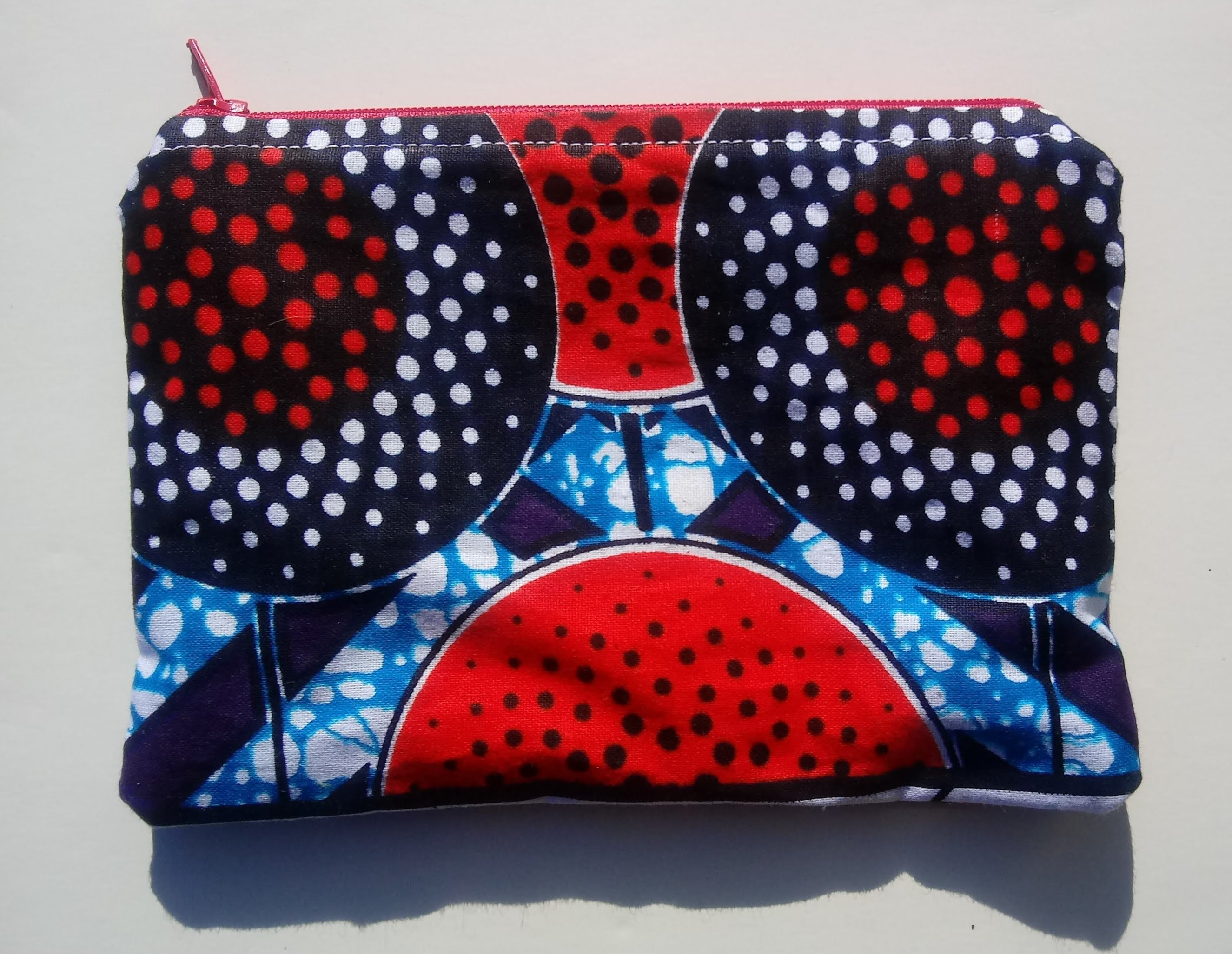 Good Juju Pouches/Lined Wax Print Pouches