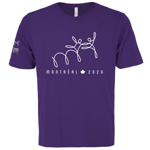 Purple Tee / T-shirt Violet