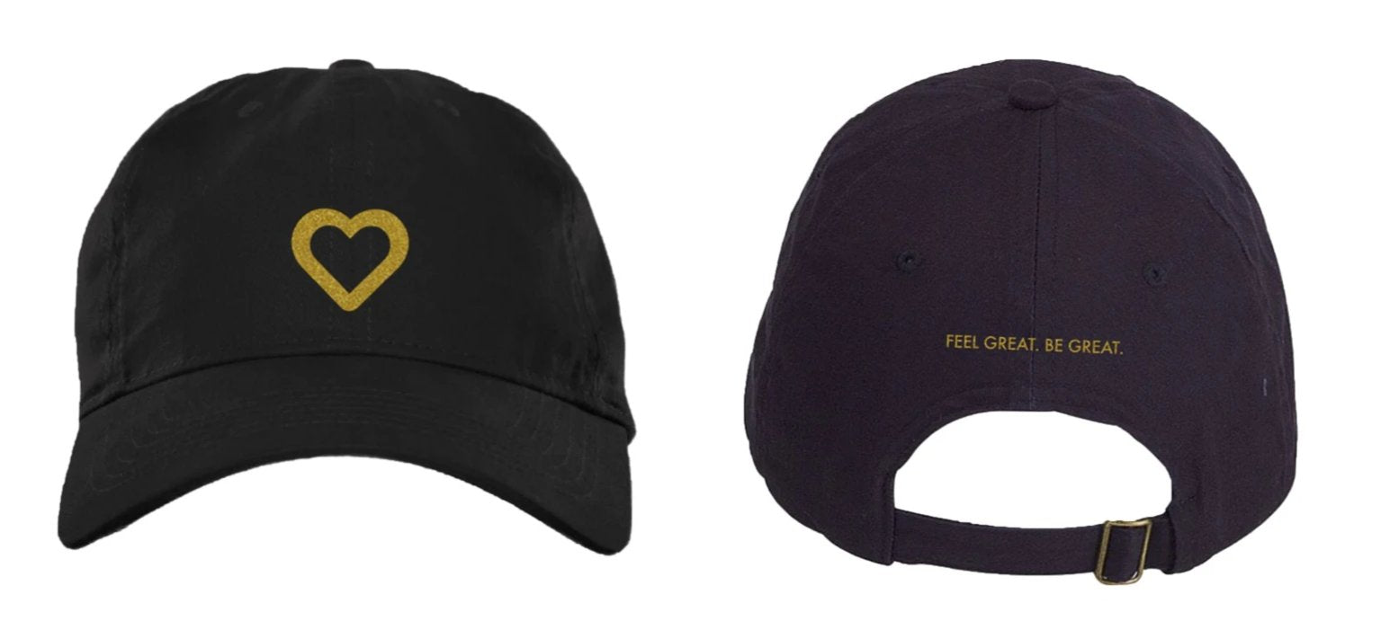 Feel Great. Be Great Dad Hat