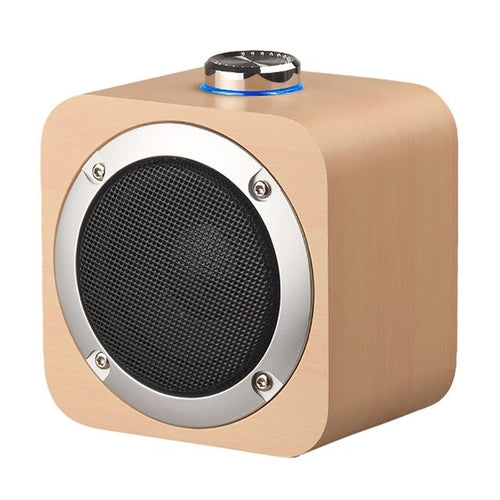 Rechargeable HIFI Portable Wooden Wireless