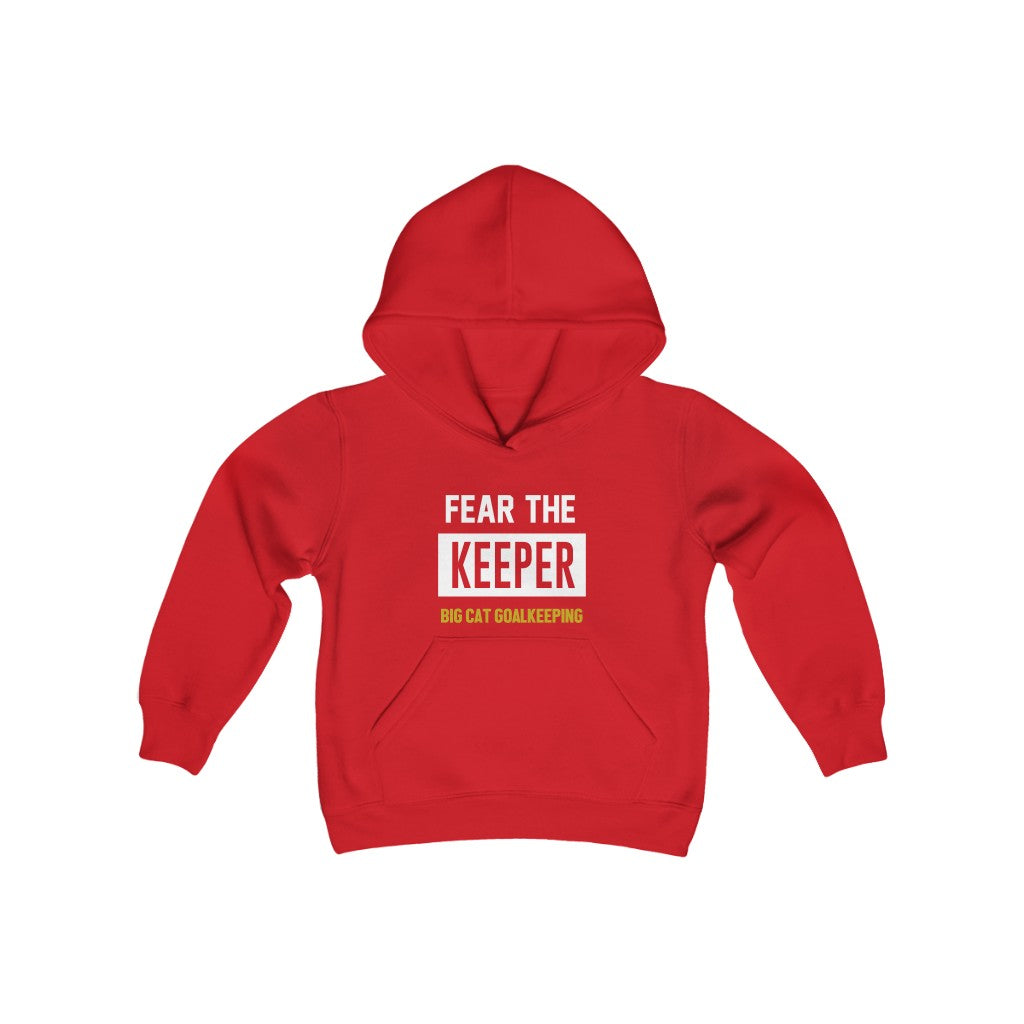 BIG CAT GK - Fear the Keeper Youth Heavy Hood Sweatshirt