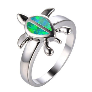 Unique Sea Turtle Ring