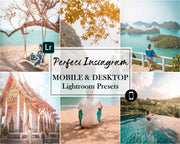 Lightroom Presets - Mobile Presets & PC Presets, Desktop Preset, Instagram Preset - Perfect Instagram