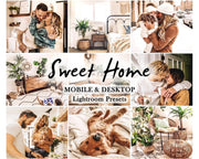 Sweet HOME - LIGHTROOM mobile and desktop PRESETS / Presets for Lightroom Mobile app / warm presets / instagram filter