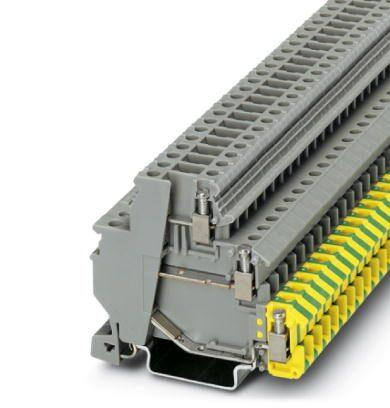 Phoenix Contact - Double Level Terminal with Ground- Part #: 2717139