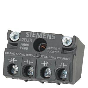 Siemens - 30mm Contact Block, 1NO/1NC - Part #: 52BJK