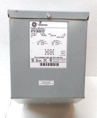 GE - External Transformer, 2KVA 480V to 120V - Part #: 9T51B0012