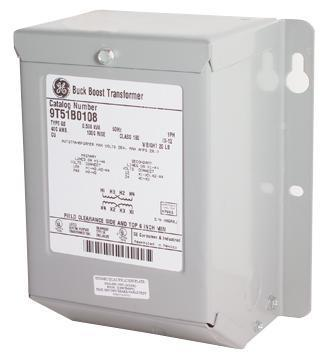 GE - External Transformer, 2KVA 600V to 120V - Part #: 9T51B0072