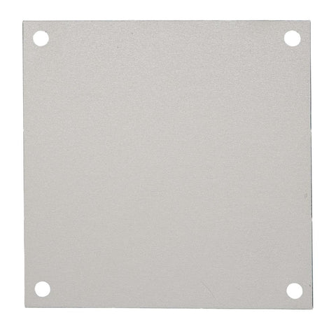 "Integra - 12""x10"" Aluminum Backplate - Part #: ABP-1210"