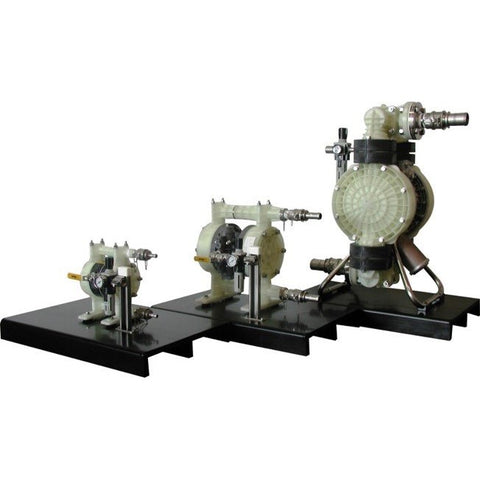AIR OPERATED DOUBLE DIAPHRAGM TRANSFER PUMPS