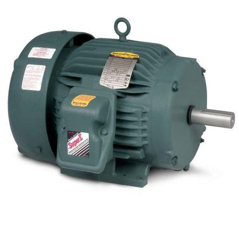 Baldor, Super-E Motor, 213TC Frame with Feet, 7.5 HP, 3600 RPM, 3 Phase, 208-230/460 Volt - Part #: ECP3769T