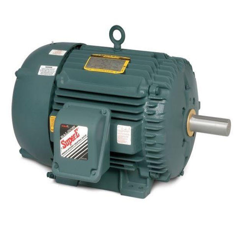 Baldor Severe Duty / High Efficiency / 841XL-Series Electric Motor, 15 HP, 3510 RPM, 3 Phase, 460V, 60 Hz, 254T Frame - Part #: ECP82394T-4