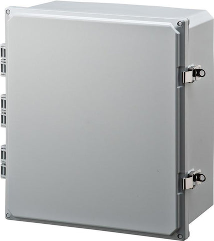 "Integra - 16""x14""x7"" Polycarbonate Enclosure - Part #: H161407HLL"