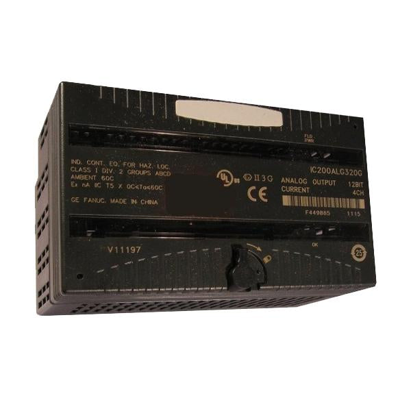 GE - Versamax Analog Output Card - Part #: IC200ALG320