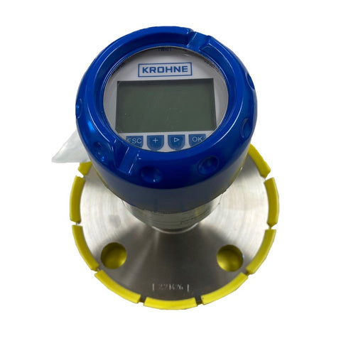 "KROHNE OPTIBAR-PC-5060C Series 316L Stainless Steel 2"" 150-lb RF Flanged Pressure Element with Integrated Transmitter/Interface/Display - Part #: VGK54WXCASAGC0SHXA17AEE00000X0"