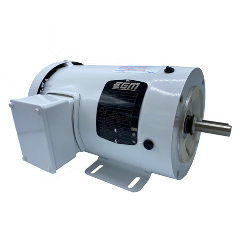 Baldor - 1 HP - 208-230/460 V - AC Motor - 3 PH - 60 HZ - 1745 RPM - 56C Frame with Feet - Part #: 35S587P560G1