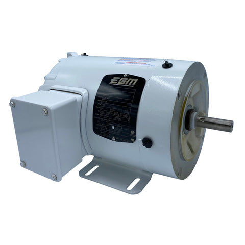Baldor - 1/2 HP - 208-230/460 V - AC Motor - 3 PH - 60 HZ - 1740 RPM - 56C Frame with Feet - Part #: 35S588M303G2