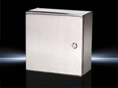 "Rittal - 8""x6""x4"" Stainless Steel Enclosure - Part #: RT JB080604H4"