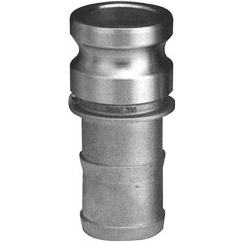 "1-1/4"" Male CAM by Hose Shank - Type E - 316 Stainless Steel - Part #: E125-SS"