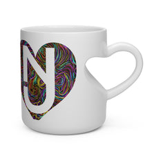 Load image into Gallery viewer, Heart Doodle Shape Mug