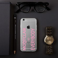 Load image into Gallery viewer, Montclair vs Everybody Pink iPhone Case