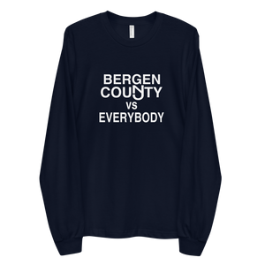 Bergen County vs Everybody Long Sleeve T-shirt