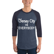 Load image into Gallery viewer, Jersey City 3/4 Sleeve Raglan Shirt